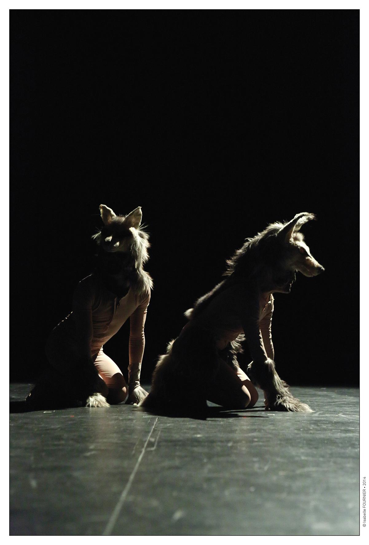 photos de plateau - résidence de création au Théâtre du Briançonnais - 1/11/2014