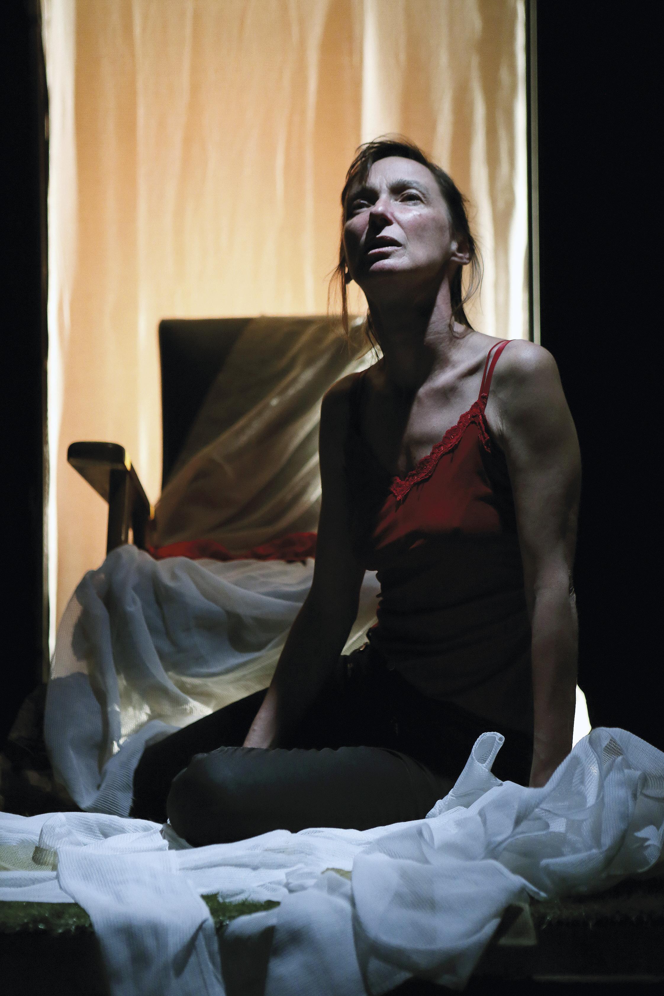 générale du spectacle «Héroïne(s) #2» / Compagnie Les Passeurs - Lucile Jourdan /// théâtre Joliette, mars 2019
