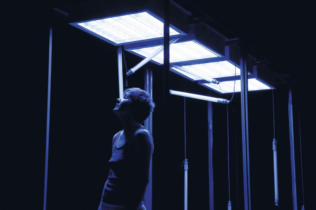 Générale du spectacle de la Compagnie Les Passeurs, Lucile Jourdan / théâtre Joliette, Marseille / 10.2.2020